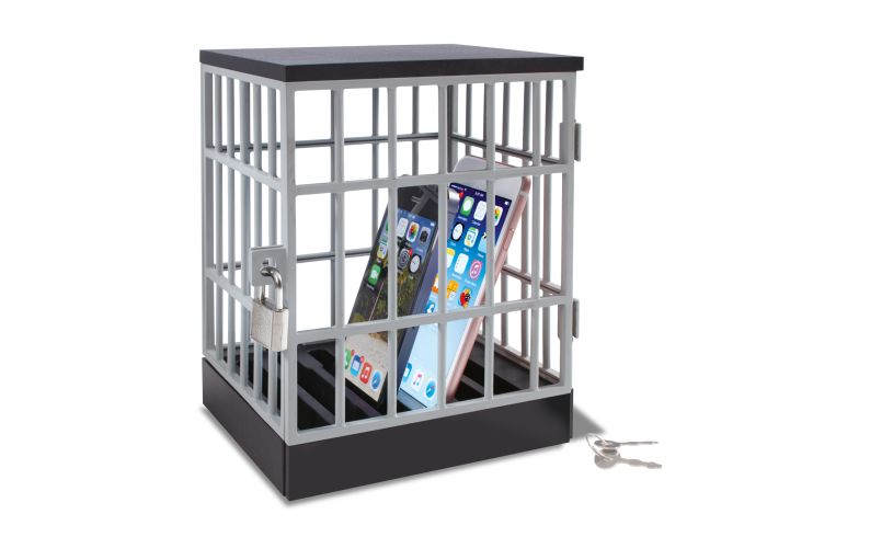 Phone Jail Toy by Wicked Uncle