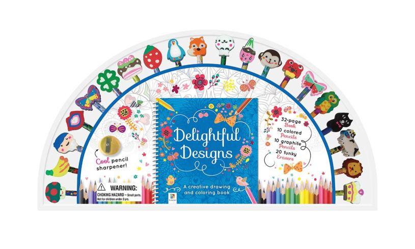 delightful designs semi-circle packaging